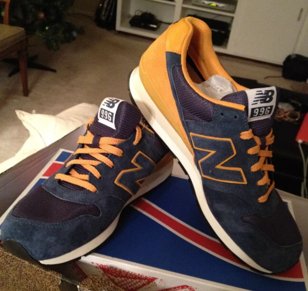 UNDFTD / Stussy / Mad Mad Mad Hectic / New Balance CM 996 Size 11 New In Box Undefeated f543e9