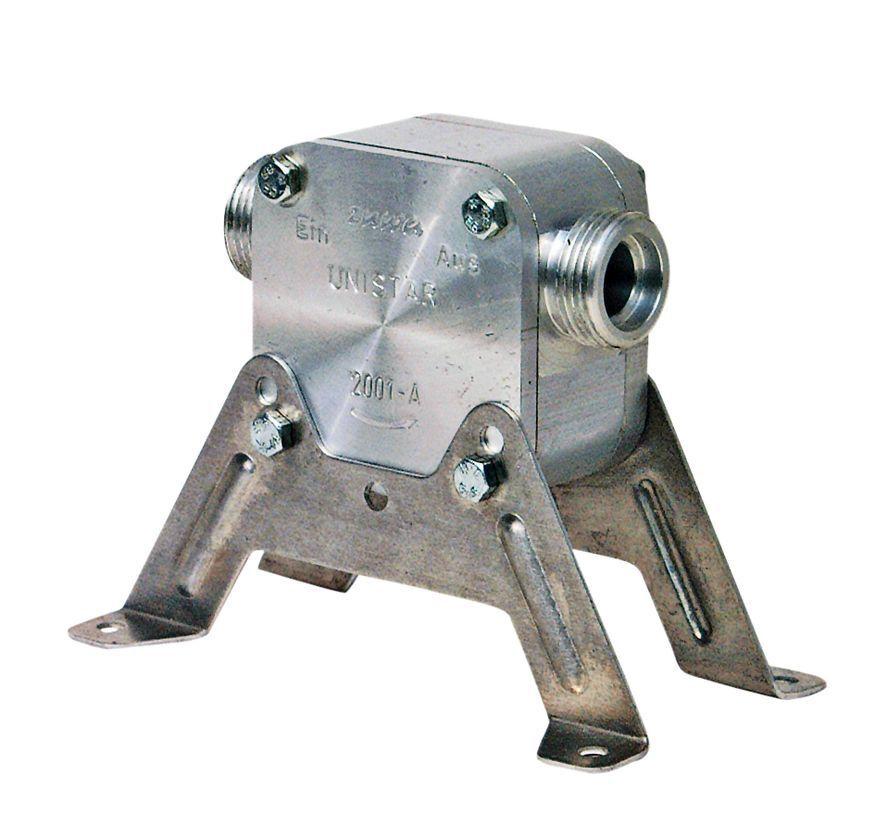 Perbunan Impeller Pumpe ZUWA UNISTAR 2001-A, 30L min, mit Montagefuß