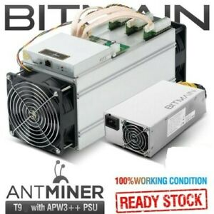 BITMAIN-AntMiner-T9-10-5TH-s-with-PSU-Lightly-Used-Great-Condition-US-SELLER