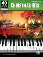 Christmas Hits Sheet Music 40 Bestsellers Series Piano Vocal Guitar 000322422