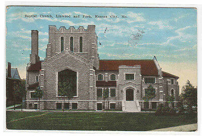 Baptist Church Lincoln & Park Kansas City Missouri 1926 ...
