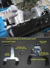 MOPAR LA-Engine HighRise Throttle Cable Mount Bracket Kit 340 360 Dodge Plymouth