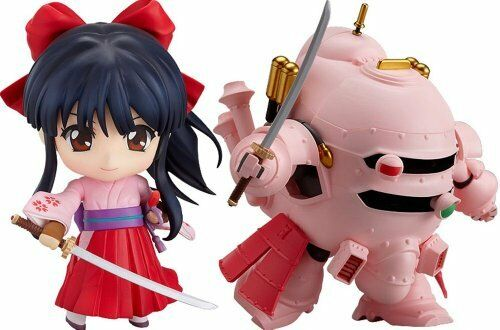NEW NendGoldid 235 Sakura Wars Sakura Shinguji & Koubu Set Figure Japan F S
