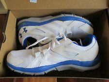 BNIB UNDER ARMOUR Micro G Engage BL H2 Men's running shoes, Size 9, white/blue