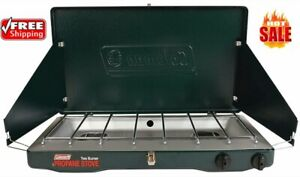 Coleman Gas Camping Stove - Classic Propane Stove, 2 Burner, Free Shipping (NEW)