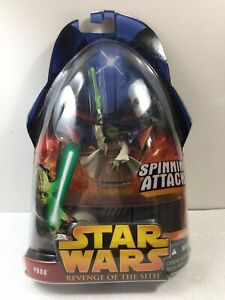 Star Wars - Revenge Of The Sith - Yoda - New W/Box Damge