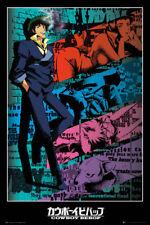 New Cowboy Bebop Spike Jet Japanese Anime Custom Poster Print Art Decor T-876