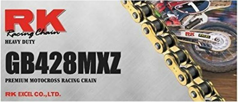 RK 428MXZ Motorrad Premium Racing Heavy Duty Chain