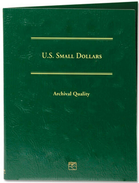 Littleton Album Blank Small Dollar Page 16 Openings Port Coin Collection New