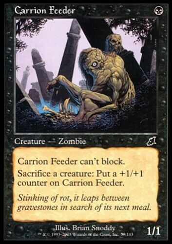 MTG 4x CARRION FEEDER Scourge *Top Zombie*