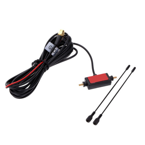 In Car Radio Digital Antenna with DVB-T ISDB-T Antenna TV Amplifier Signal UK