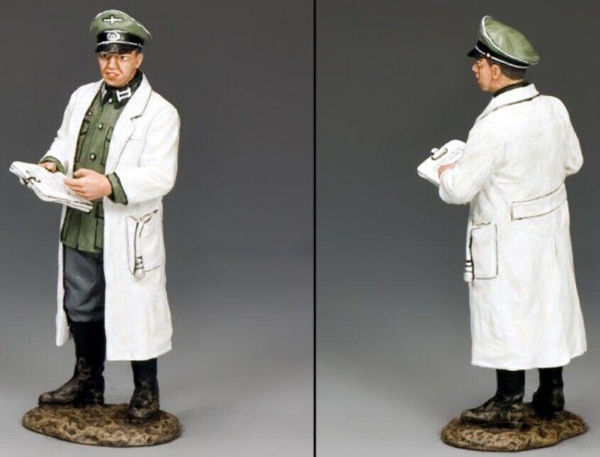 KING & COUNTRY WW2 GERMAN ARMY WS261 WEHRMACHT DOCTOR MIB