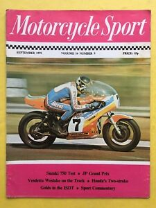 MOTORCYCLE SPORT - November 1976 - Honda 550 Test - Sport Down Under - Magazine