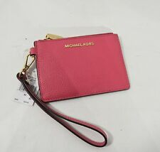 da92d85bb189 item 3 NWT Michael Kors Small Leather Coin Purse Wristlet. Marigold  Butternut Rose Pink -NWT Michael Kors Small Leather Coin Purse Wristlet.