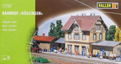 """Bahnhof /"""" Güglingen /"""" NEU /& OvP Faller 212107 N"""