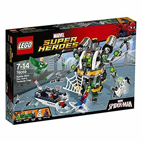 LEGO Super Heroes 76059  Spider-Man Doc Ock's Tentacle Trap - Brand New