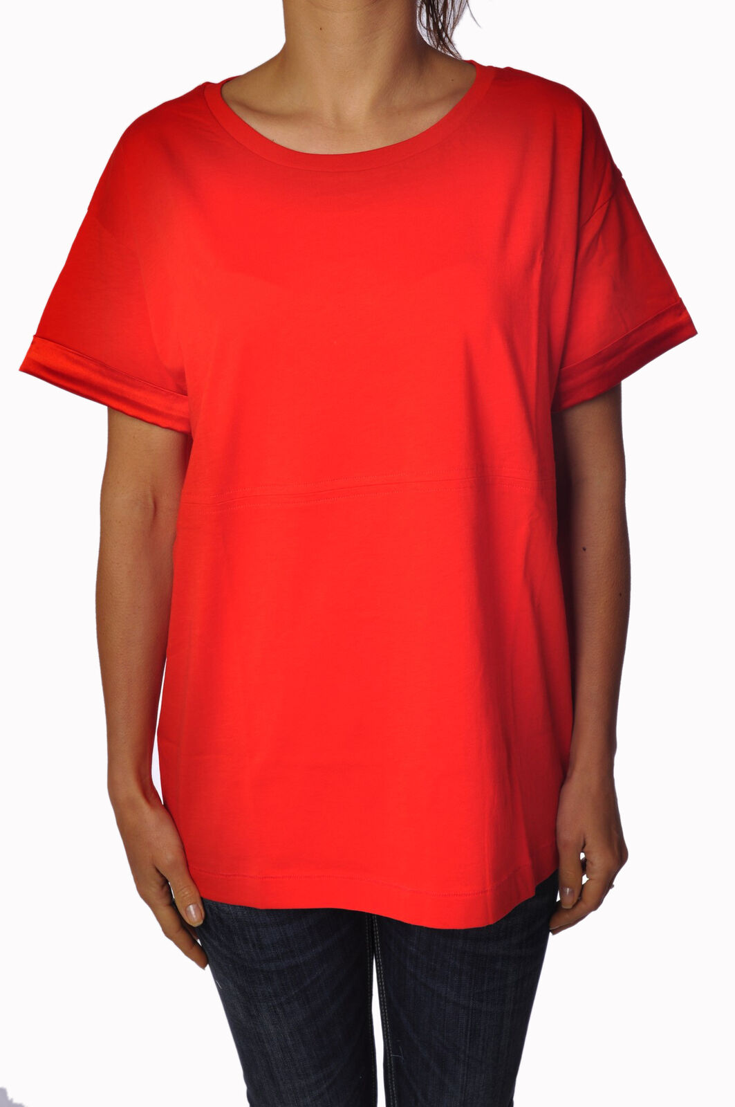 Rosao - Topwear-T-shirts - woman - rot - 783907E191451
