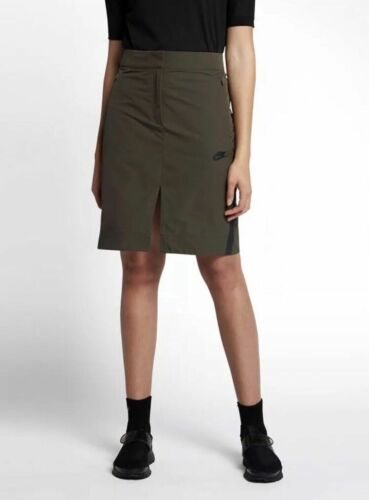 Sportswear Jupe Olive Nwt Collée L Vert 855963 Nike Taille 5fxwaq
