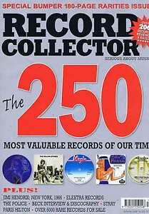 250-RAREST-RECORDS-JIMI-HENDRIX-BECK-POLICE-Record-Collector-330-Dec-2006
