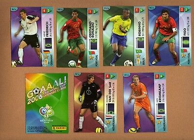 --  Panini -- Fußball Goaaal! Cards 2006 --  kpl. Satz + orginal Album