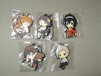 Bungo Stray Dogs Anime Mascot PVC Strap Keychain Charm ~ Ranpo Edogawa @9855