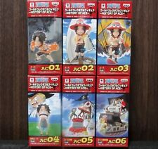 ONE PIECE WCF World Collectable Figure HISTORY OF ACE Complete set