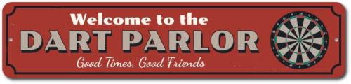 Good Times Good Friends Gift Metal Dart ENSA1002390 Dart Parlor Welcome Sign