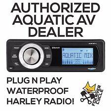 AQUATIC AV FACTORY HARLEY REPLACEMENT BLUETOOTH STEREO RADIO MEDIA PLAYER