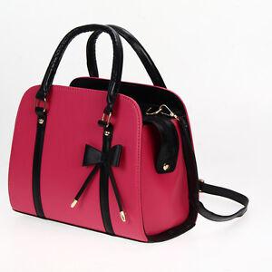 Women-Stylish-Hobo-Leather-Shoulder-Bag-Messenger-Purse-Satchel-Tote-Handbag-SHQ