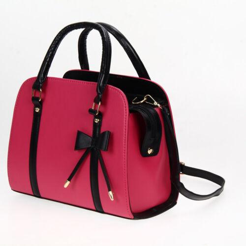 Women Stylish Hobo Leather Shoulder Bag Messenger Purse Satchel Tote Handbag SHQ