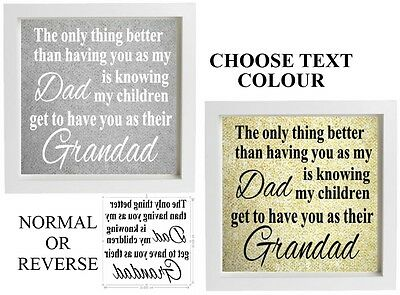 Vinyl Sticker 20 x 20cm DIY Box Frame WE HAVE THE BEST GODMOTHER