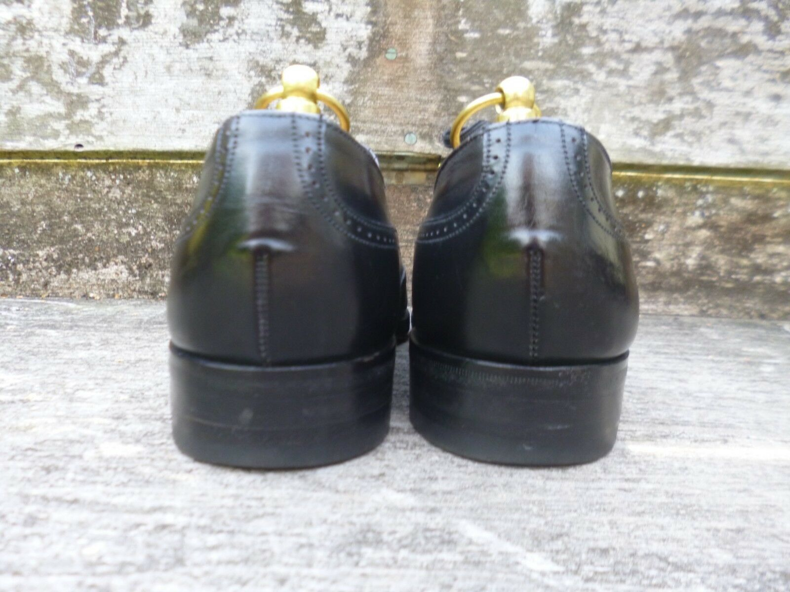 CHEANEY - / CHURCH VINTAGE BROGUES - CHEANEY BLACK - UK 8 – EXCELLENT CONDITION 30d0a7