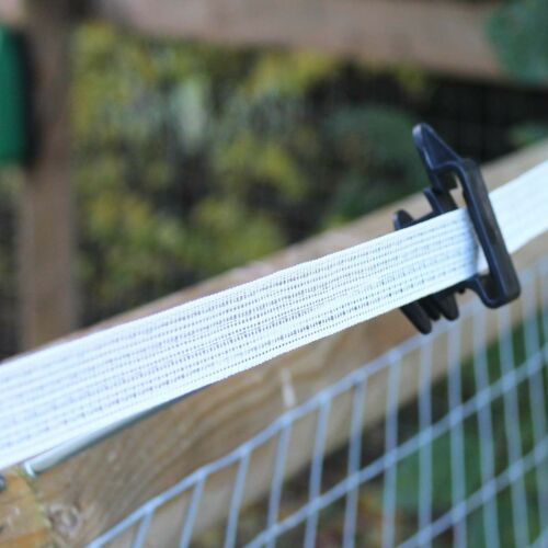 Electric Fence Insulators Extended Plastic Holders For Tape Fortis Polytape