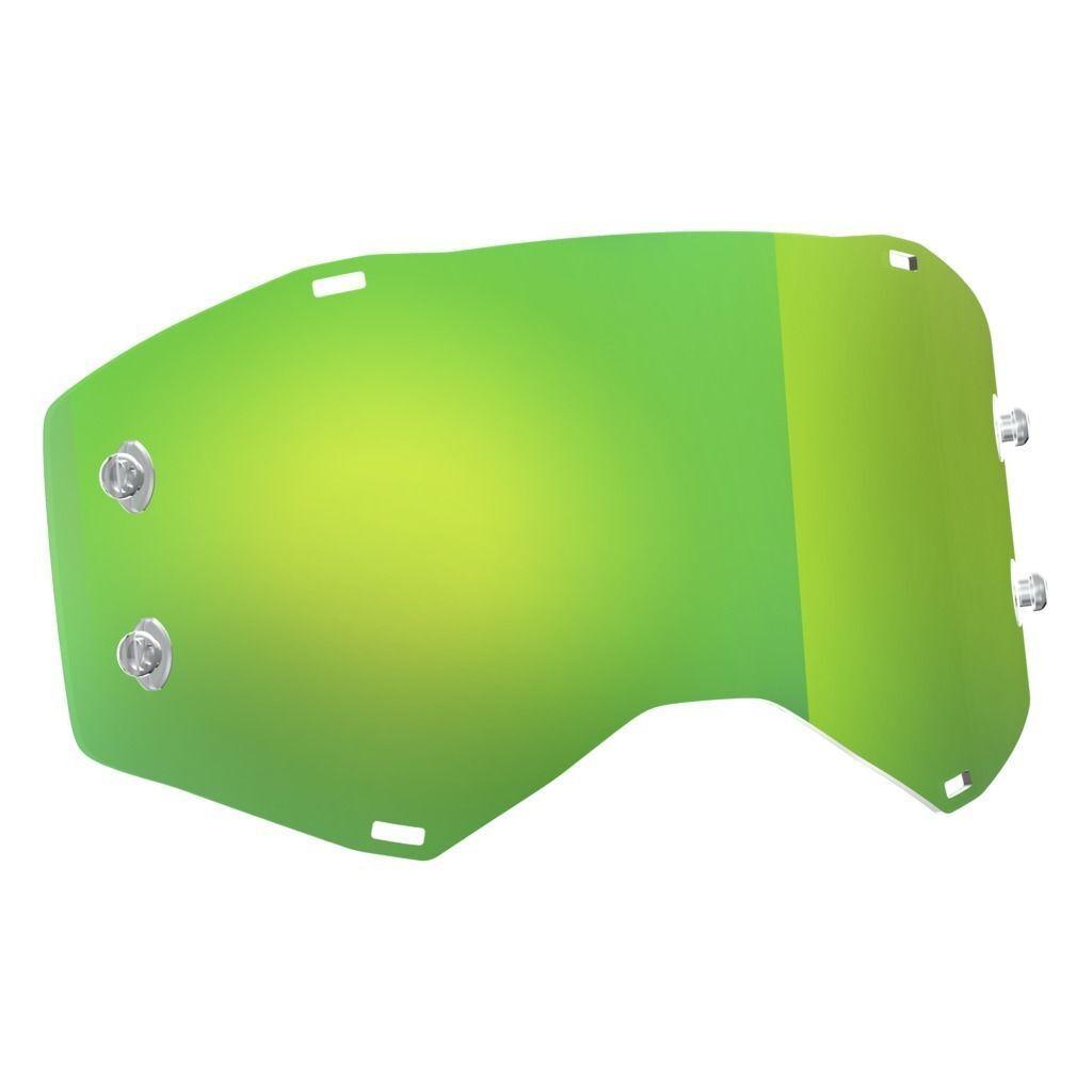 ORIGINAL  Scott Prospect Recambio Cromo green compatible Gafas Desprendibles  high quality & fast shipping