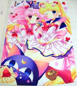 Sailor moon Anime Manga Spannbettlaken bettlaken Spannbetttüche<wbr/>r 150x210cm Neu