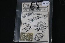 YX107 VP verlinden maquette diorama 65 Seat Belt Buckles sangle boucle ceinture