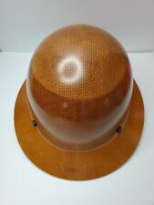 Msa 475407 Skullgard Hard Hat Full Brim With Fas Trac Suspension Natural Tan New