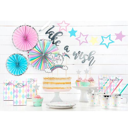 + 1 Cake Topper Set Einhorn +