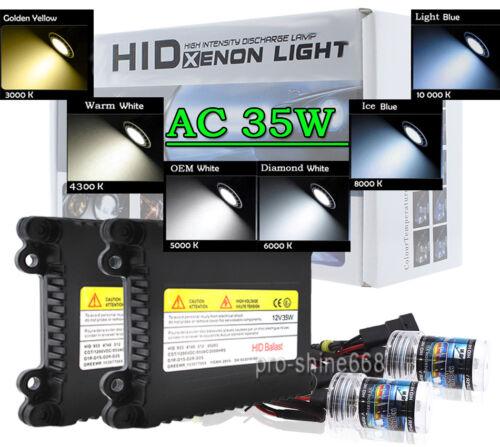 AC HID XENON 35W Conversion Kit Bulbs H1 H4 H7 H11 H13 9003 9005 9006 9007 880