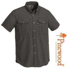 ~ Kurzarm Freizeithemd Pinewood BOTSWANA Outdoorhemd