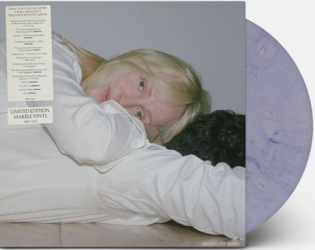 LAURA MARLING LP Song For Our Daughter Limited MARBLED VINYL Mails same Day !