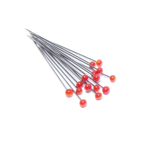 """HEAT /& RUST RESISTANT CHOOSE YOUR COLOR USA 150 PICS GLASS HEAD PINS 1-1//2/"""""""