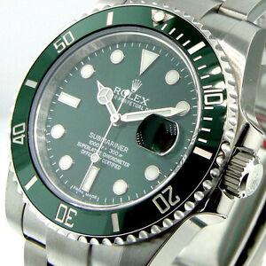 ROLEX-116610LV-SUBMARINER-GREEN-DIAL-THE-HULK-GREEN-CERAMIC-BEZEL
