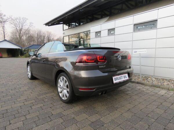 VW Golf VI 1,4 TSi 122 Cabriolet DSG - billede 2