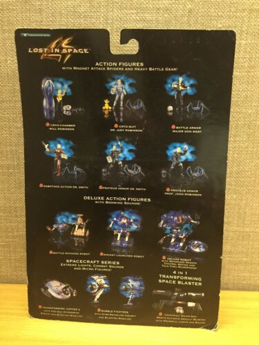Lost In Space Proteus Armor Dr Smith w//Rip-Claw Spider 1997 Action Figure New!