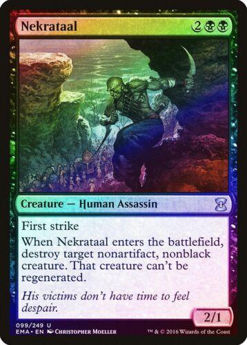Nekrataal FOIL Eternal Masters NM Black Uncommon MAGIC GATHERING CARD ABUGames