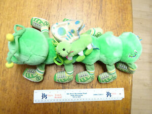 VINTAGE-LOTS-A-LOTS-A-LEGS-CATERPILLAR-14-034-SOFT-TOY-LIGHTS-UP-COMMONWEALTH