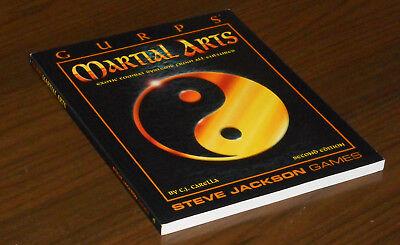 Acquista A Buon Mercato Sjg 6036 Gurps Martial Arms 2nd Ed C. J. Carella 1996 Come Nuovo Steve Jackson