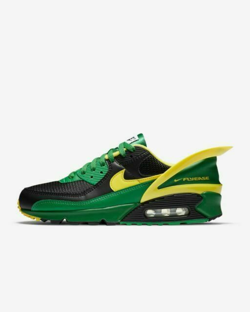 Size 10 - Nike Air Max 90 FlyEase Oregon Ducks for sale online | eBay