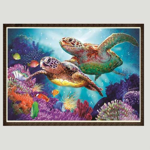 5D Diamond Embroidery Painting Tortoise Cross Stitch Home Decor Full Drill C